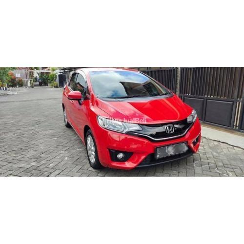 Mobil Honda Jazz S Automatic 2018 Merah Bekas Body Mulus Orisinil - Surabaya