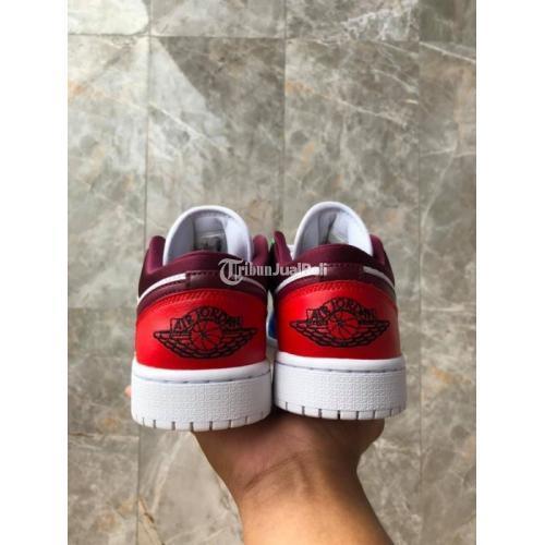 Sepatu Sneakers Nike Air Jordan 1 Low Multicolor WMNS BNIB HOOPS - Surabaya