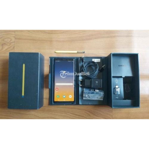 Samsung Galaxy Note 9 Coral bBue 6/128GB Fulset Original No Minus - Denpasar