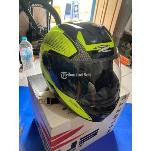 Helm Zeus 811 ZS811-AL6 Single Visor + Free Smoke Visor Bekas Like New - Semarang