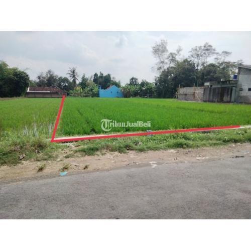 Dijual Tanah Strategis 60m Utara RS.PKU Gamping Jalan Aspal Truk Masuk - Jogja