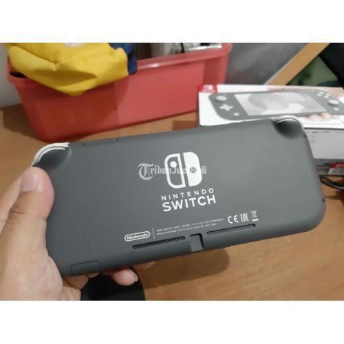 Nintendo Switch Lite Grey SD128GB Konsol Game Bekas Like New - Bandung