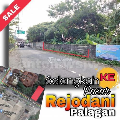 Dijual Tanah Strategis Selangkah Ke Pasar Tepi Jl Rejodani Hadap Selatan - Jogja