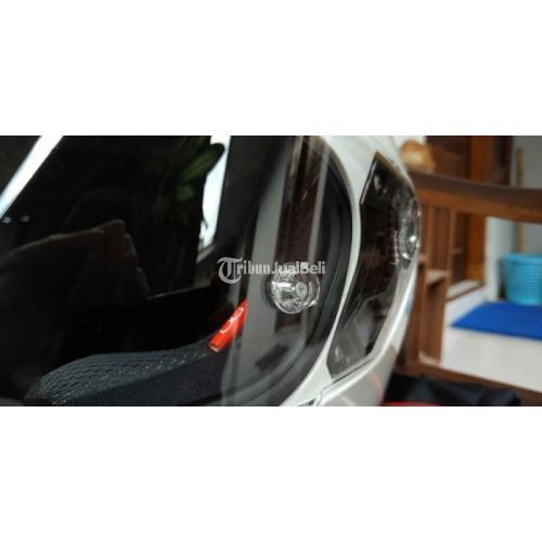 Helm KYT TT Course White Solid Ukuran L Bekas Like New Mulus Lengkap - Jogja