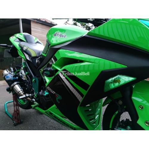 Motor Kawasaki Ninja 250 SE 2013 Bekas Tangan1 Terawat Surat Lengkap Pajak Baru - Jakarta
