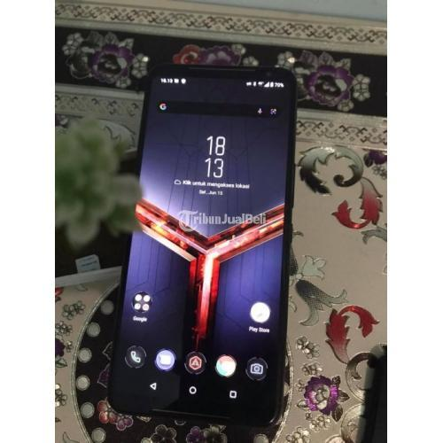 HP Asus ROG Phone 2 8/128GB Bekas No Kendala Nominus - Pontianak