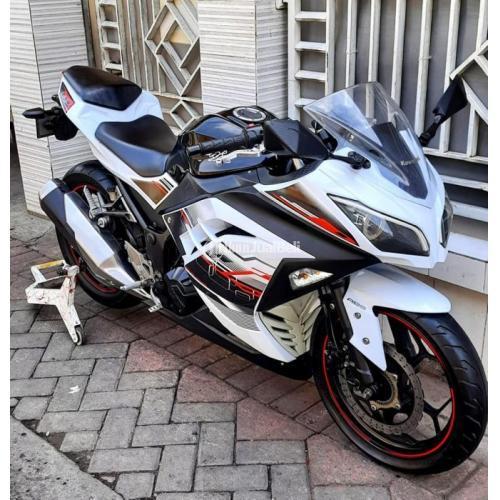 Motor Kawasaki Ninja 250cc ABS 2014 Bekas Body Mulus Surat Lengkap - Surabaya