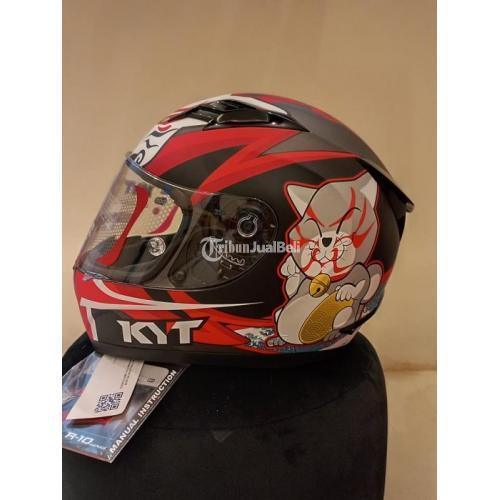 Helm KYT R10 Kabuki Cat Doff New Original Size M,L Harga Murah - Semarang