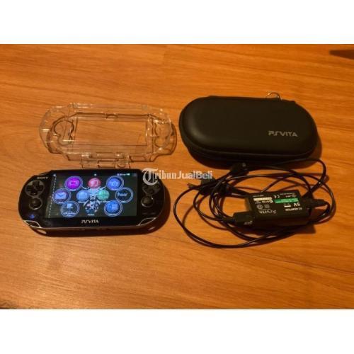 Konsol PS Vita Fat 16GB Bekas Normal Siap Download Game - Gresik