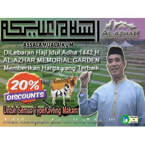 Promo Idul Adha 1442 H untuk Kavling Makam Al-Azhar Harga Diskon 20% - Karawang