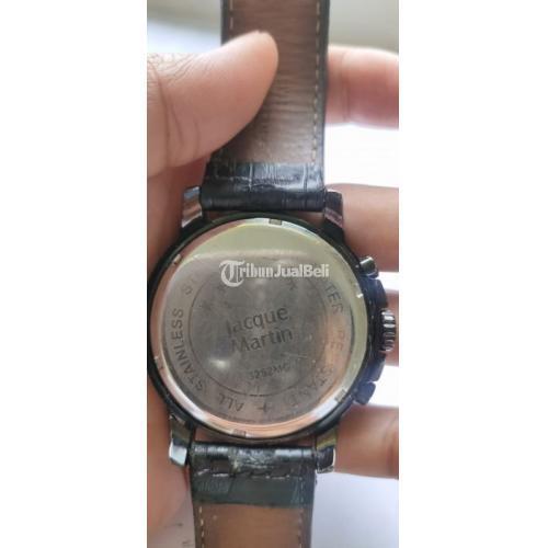 Jam Tangan Jacque Martin Diameter 50mm Include Crown Bekas Normal - Depok