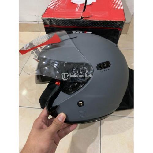 Helm KYT DJ Maxi Doubel Visor Ukuran L Barang Baru Belum Pakai - Solo