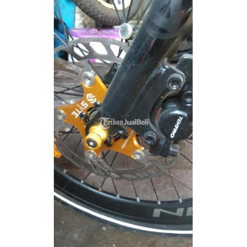 """Sepeda Lipat Noris Pro 20"""" Speed 8 Bekas Kondisi Normal Harga Nego - Jakarta Timur"""