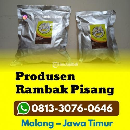 Produsen Rambak Pisang Kriuk Fresh Cemilan Sehat untuk Diet - Surabaya