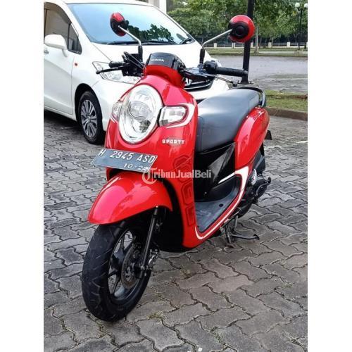 Motor Scoopy CW 2017 Bekas Nornal Terawat Surat Lengkap Pajak Jalan - Semarang