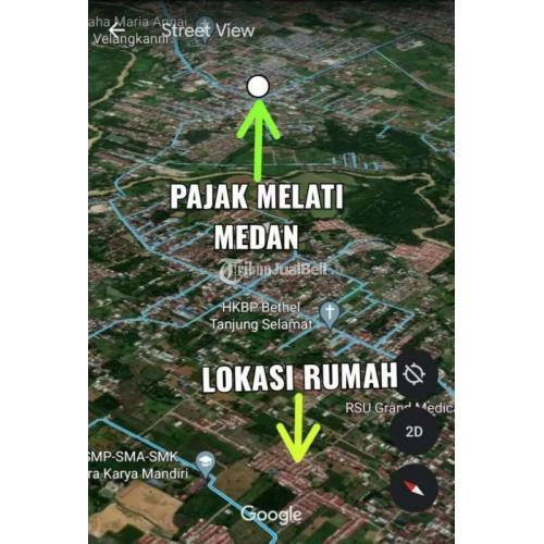 Take Over kredit rumah subsidi hook tanjung selamat 5 menit ke pajak melati - Medan