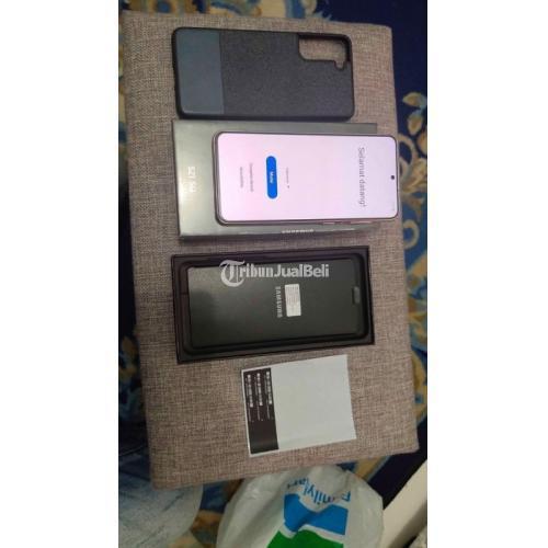 HP Samsung S21 256GB Bekas Garansi Resmi Like New Fullset Original - Jakarta