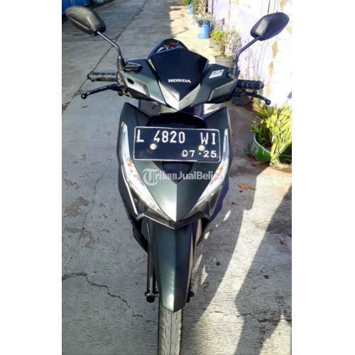 Motor Honda Vario 150 2015 Hitam Bekas Surat Lengkap Mesin Halus - Surabaya
