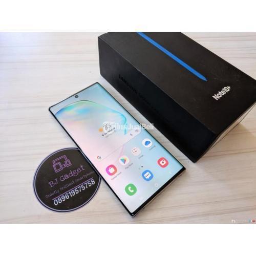 HP Samsung Galaxy Note 10 Plus 256Gb/512 Bekas Mulus No Minus - Surabaya