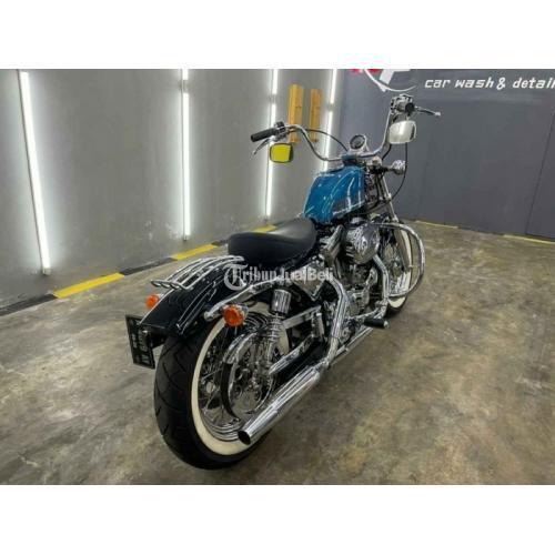 Moge Harley-Davidson Sportster 1994 Restorasi Mesin Sehat Normal Mulus - Bandung