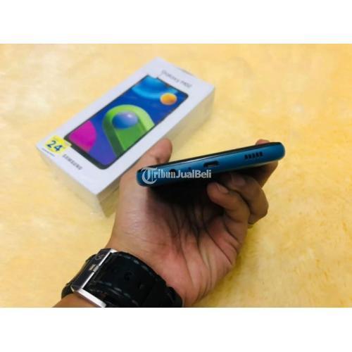 HP Samsung M02 Ram 2gb/32g Fullset Bekas Mulus No Minus Garansi - Yogyakarta