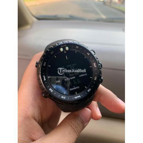 Jam Tangan Suunto All Core Black Bekas Lengkap Sertifikat Mulus Nominus - Tangerang