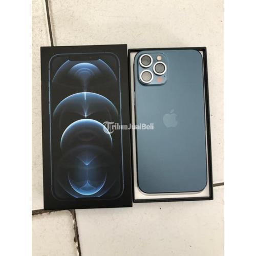 HP Apple iPhone 12 Pro Max 128GB Bekas iBox Full Ori Nominus Garansi On - Karawang