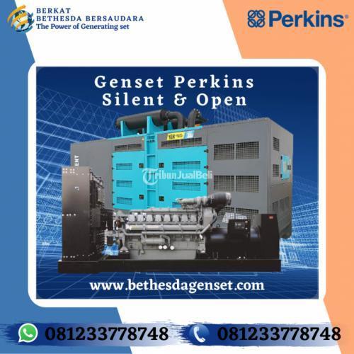 Genset Perkins 10 KVA Silent Harga Murah Berkualitas dan Bergaransi - Surabaya
