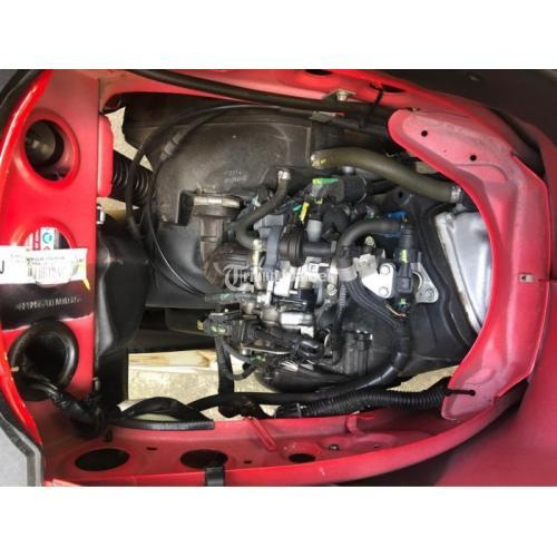 Motor Vespa LX 125 i-Get 2018 Low KM Bekas Surat Lengkap Mesin Mulus - Gianyar