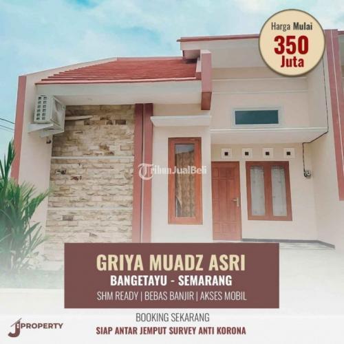 Rumah Baru Modern Luas Tanah 70 m² Kusen Kayu Jati Bebas Banjir  - Semarang