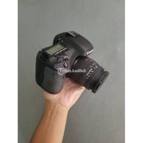 Kamera DSLR Canon 7D Bekas Mulus Normal Lensa Sigma 18-50mm - Jakarta