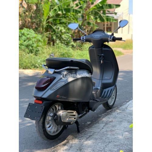 Motor Vespa Sprint 3v IGET 2016 Bekas KM Rendah Full Paper Siap Pakai - Klaten