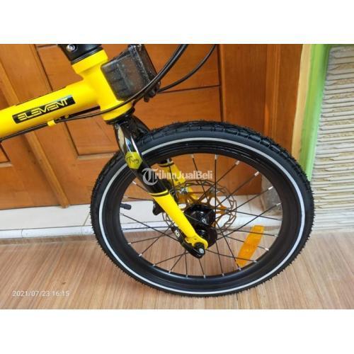 Sepeda Lipat Element Troy B2W 2020 Bekas Normal Mulus Like New - Jogja