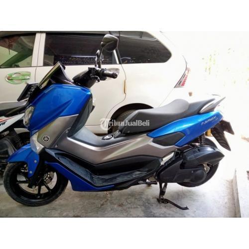 Motor Yamaha NMax 2019 Warna Biru Bekas Surat Lengkap Harga Nego - Gresik