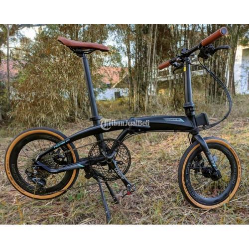 Sepeda Lipat Pacific Noris 1.0 Rims 16+ Full Upgrade Bekas Normal - Yogyakarta