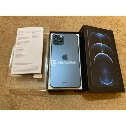 HP iPhone 12 Pro 256GB Warna Pasific Blue Bekas Normal Garansi iBox - Surabaya