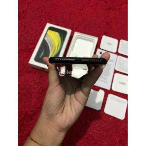 HP iPhone SE 2020 64GB iBox Bekas Fullset Baterai 99% Mulus Nego - Bekasi