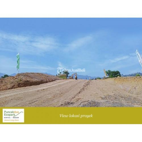Dijual Tanah Kavling Mewah Puncakdua Ecopark Sentul, SHM, Dekat Jakarta - Bogor