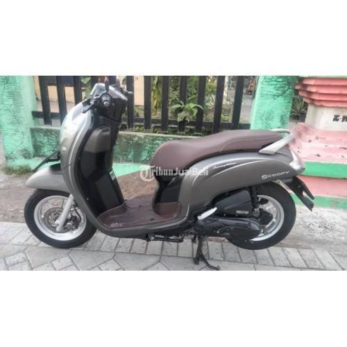 Motor Honda Scoopy 2018 Mesin Halus Ban Tebal Bekas Mulus Nego - Surabaya