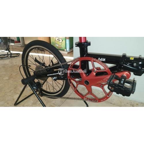 Sepeda Lipat XLR8 Plus 9 Speed Bekas Kondisi Normal Harga Nego - Jakarta Selatan