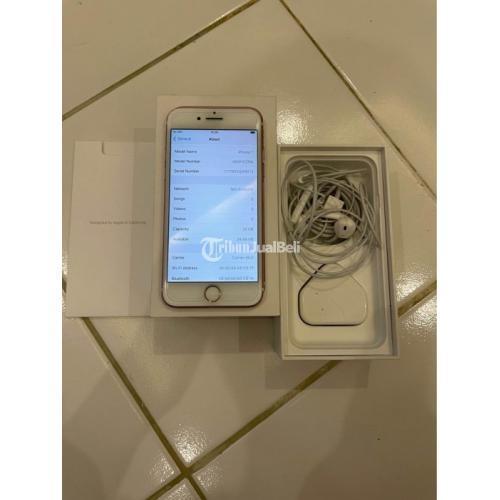 HP iPhone 7 32GB Rose Gold iCoud Aman Bekas Kondisi Normal - Jakarta Selatan