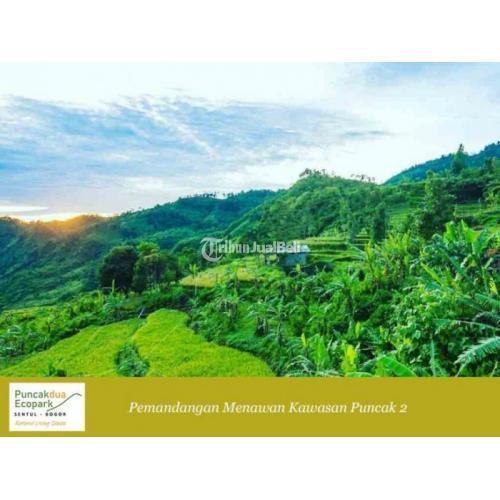 Dijual Tanah Kavling Eksklusif Puncakdua Ecopark Sentul, SHM, Dekat Jakarta - Bogor