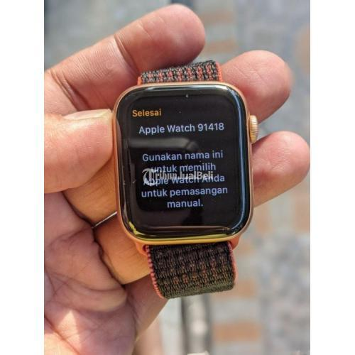 Apple Watch 4 44mm ID/A Indonesia Original Bekas Mulus Like New - Solo