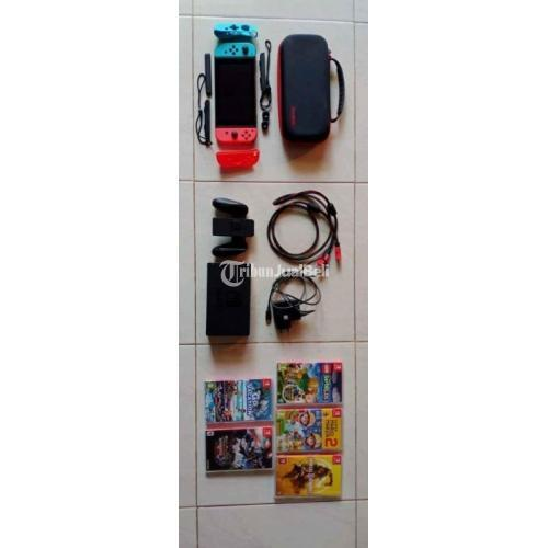 Konsol Game Nintendo Switch V1 Bekas Like New Normal Harga Nego - Surabaya