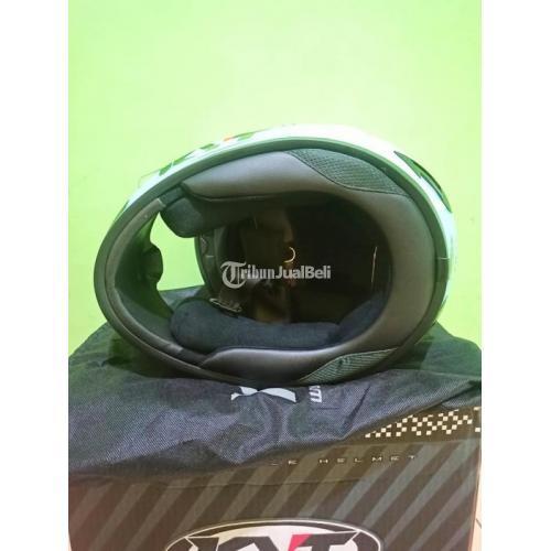 Helm KYT R10 Aquamarine Size M Bekas Mulus Like New Lengkap - Semarang