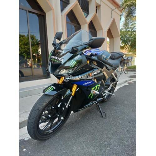Motor Yamaha R15 V3 Monster Energy 2019 Bekas Terawat Surat Lengkap Pajak On - Semarang