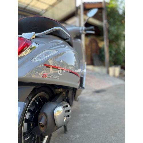 Motor Vespa Sprint S Iget LED ABS Facelift 2019 Bekas Like New Surat Lengkap - Jakarta