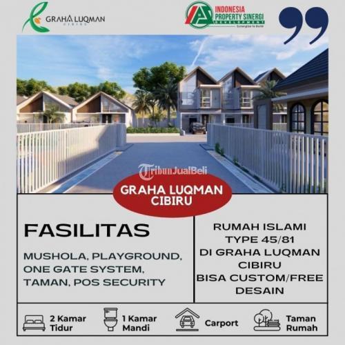 Dijual Rumah Mewah 2 Lantai LT.79m2 di Graha Luqman Cibiru - Bandung