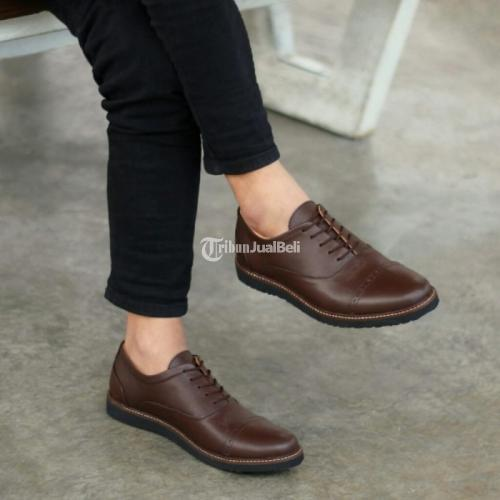 Sepatu Kulit Asli Sapi Premium Formal Size 39-44 Produk Bergaransi - Jakarta
