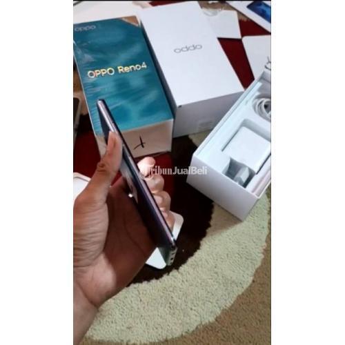 HP Oppo Reno 4 Fullset Bekas Fungsi Normal Mulus No Minus - Jakarta Pusat